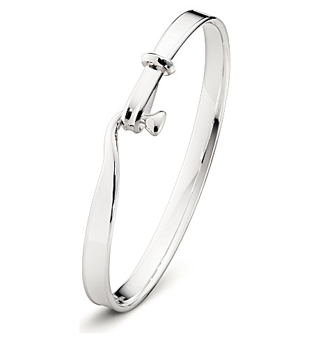 GEORG JENSEN Torun sterling silver bangle