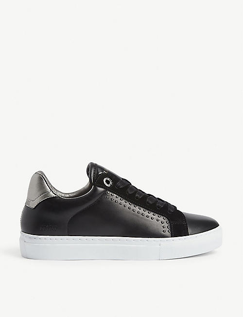 Zadig & Voltaire ZADIG NEO KEITH - Trainers - blanc SFMtTi