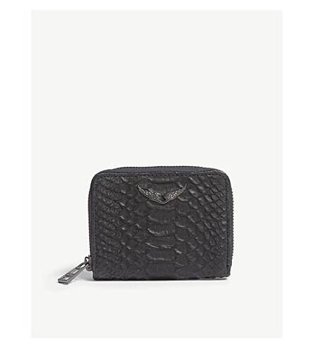 ZADIG & VOLTAIRE ZV 皮革钱夹 (黑色