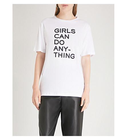 ZADIG & VOLTAIRE Bella cotton-jersey T-shirt (Blanc