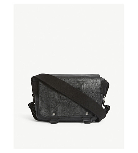ZADIG & VOLTAIRE Ready-made XS leather shoulder bag (Noir