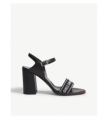 ZADIG & VOLTAIRE Vogue words sandals (Black