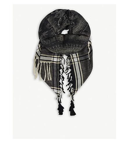 ZADIG & VOLTAIRE Babel scarf (Black