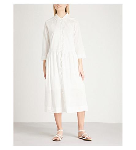 ZADIG & VOLTAIRE Roof cotton-voile midi dress (White