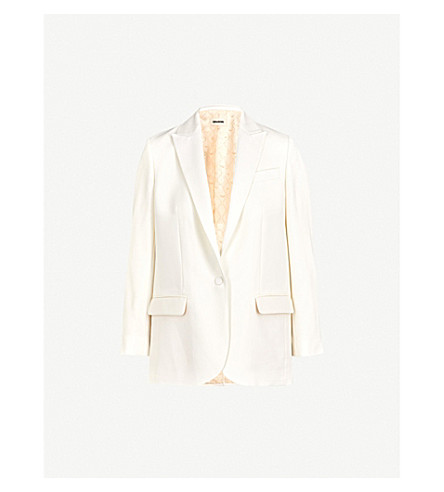 ZADIG&VOLTAIRE Vega crepe blazer (White