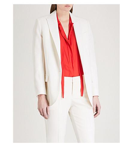 ZADIG & VOLTAIRE Vega crepe blazer (White