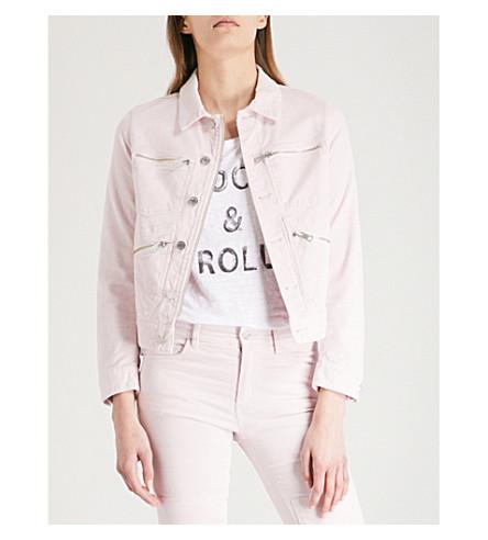 ZADIG & VOLTAIRE Kioko corduroy stretch-cotton jacket (Pale+pink