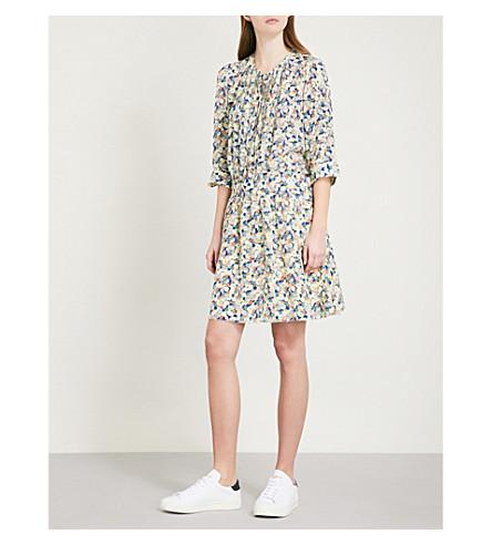 ZADIG & VOLTAIRE Remus floral-print silk-crepe de chine dress (Multi-coloured