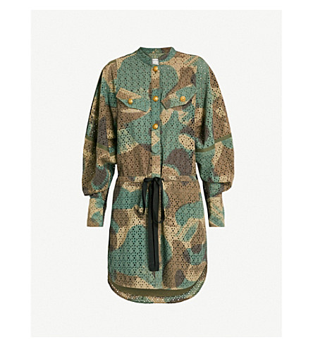 ZADIG&VOLTAIRE Rafal cotton-broderie anglaise dress (Green