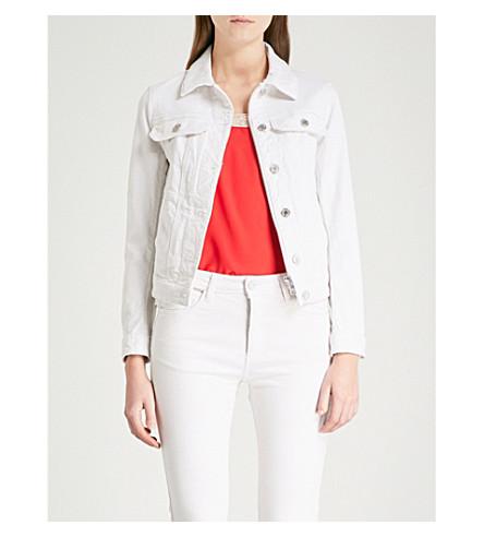 ZADIG & VOLTAIRE Kioky stretch-denim jacket (White