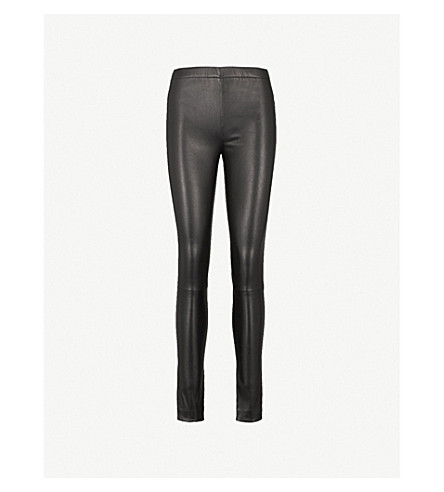 ZADIG & VOLTAIRE Pharel stretch-leather leggings (Black
