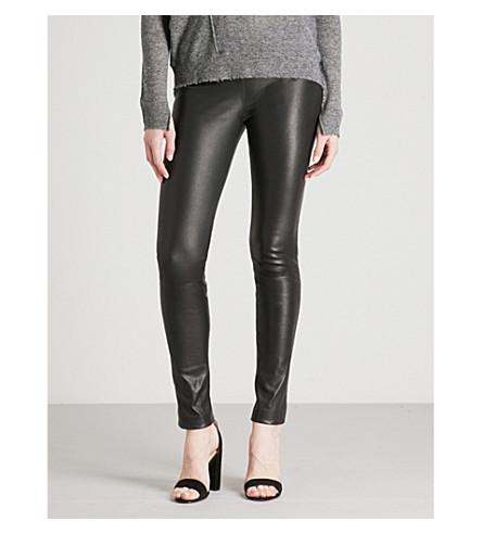 ZADIG & VOLTAIRE Pharel stretch-leather leggings (Black