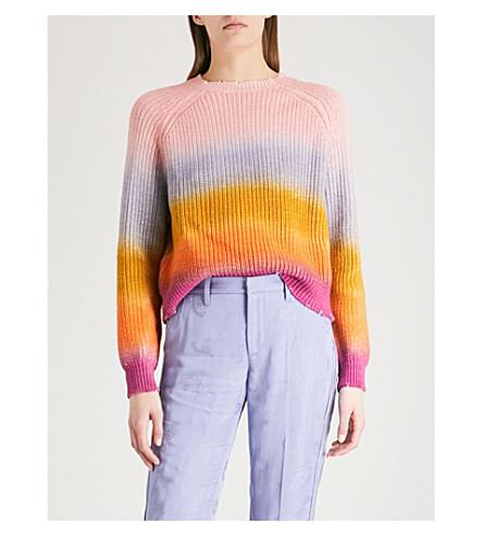 ZADIG & VOLTAIRE Kary striped cotton jumper (Multi-coloured