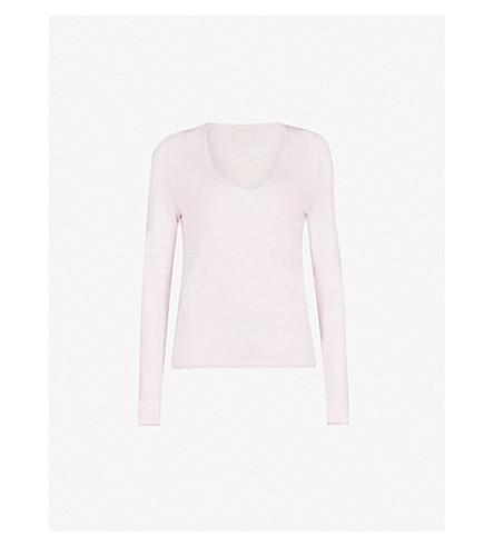 ZADIG&VOLTAIRE Nosfa merino wool jumper (Pale+pink