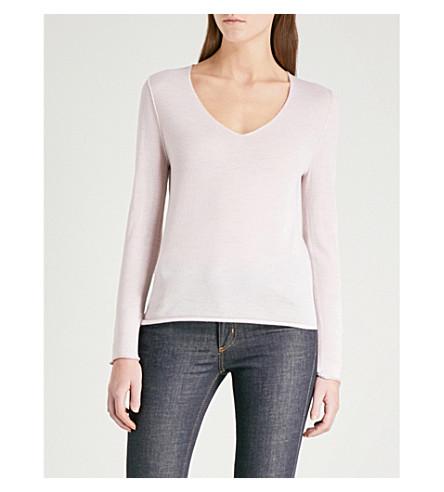 ZADIG & VOLTAIRE Nosfa merino wool jumper (Pale+pink