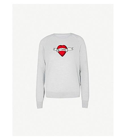 ZADIG&VOLTAIRE Rime wool jumper (Grey