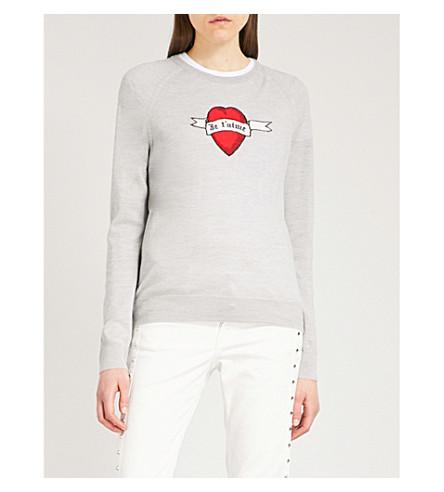ZADIG & VOLTAIRE Rime wool jumper (Grey