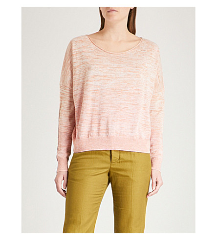ZADIG & VOLTAIRE Ava cotton-blend jumper (Pink