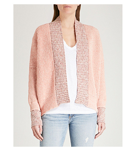 ZADIG & VOLTAIRE Slouchy cotton-blend cardigan (Yellow