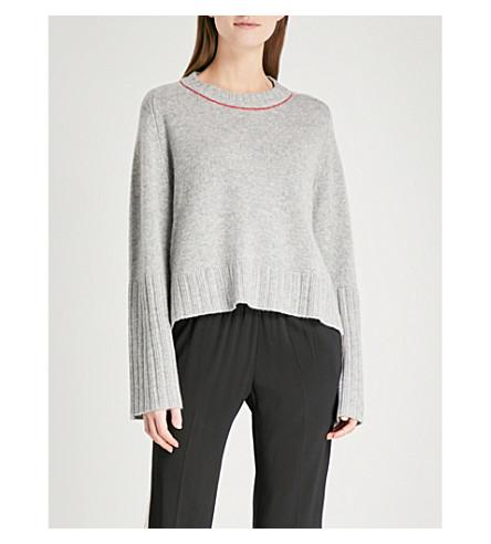 ZADIG & VOLTAIRE Lea cashmere jumper (Grey
