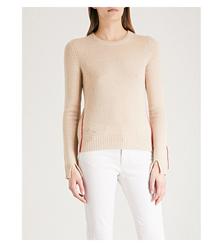 ZADIG & VOLTAIRE Source cashmere jumper (Cream