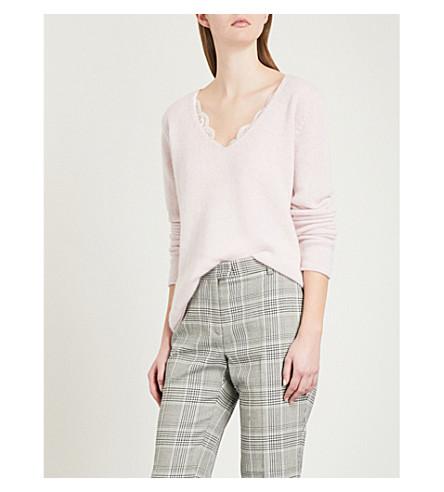 ZADIG & VOLTAIRE Nosfa cashmere-blend jumper (Pale+pink