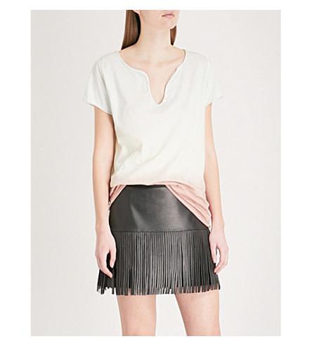 ZADIG & VOLTAIRE Tie-dye cotton-jersey T-shirt (Opaline