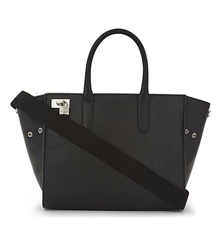 ZADIG & VOLTAIRE Muse leather shoulder bag (Noir