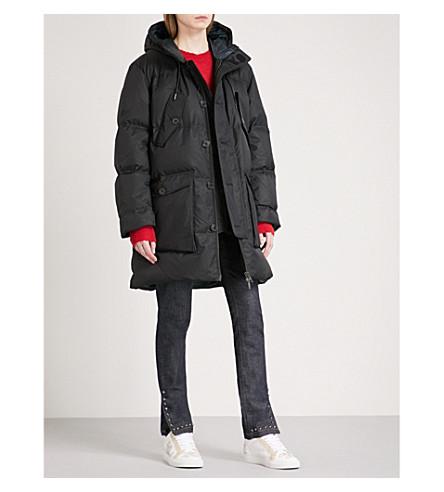 ZADIG & VOLTAIRE Biscota padded shell puffer coat (Noir