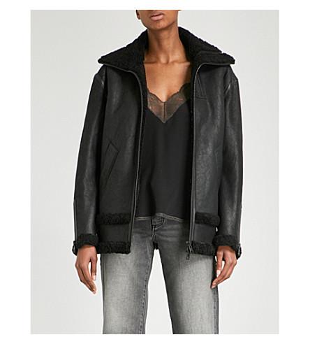 ZADIG & VOLTAIRE Kyle Deluxe SPI leather jacket (Noir