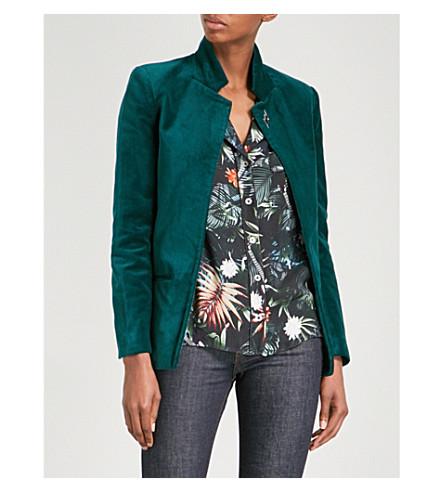 ZADIG & VOLTAIRE Volly velvet blazer (Bouteille