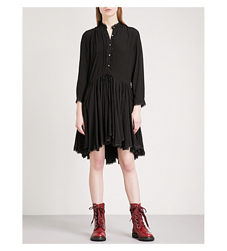 ZADIG & VOLTAIRE Ranil yak dress (Noir
