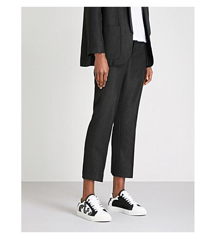 ZADIG & VOLTAIRE豪华梭织裤子 (黑色