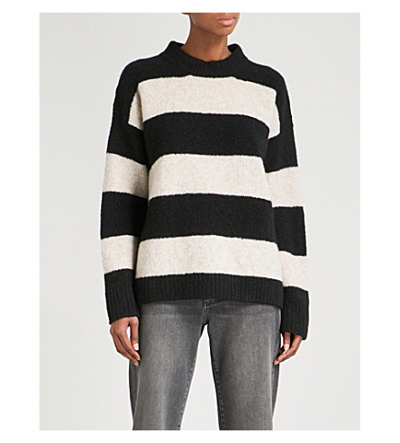 ZADIG & VOLTAIRE Tony WP wool-blend jumper (Noir