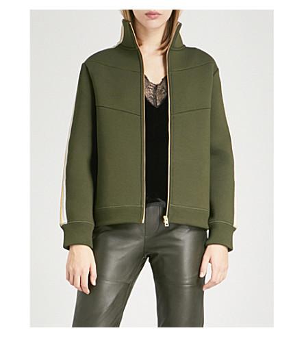 ZADIG & VOLTAIRE Cosy Neo neoprene jacket (Kaki