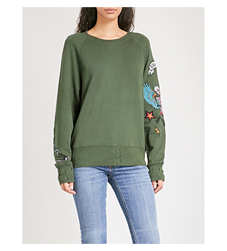 Kavys Brodé jacket - Green Zadig & Voltaire Buy Cheap Brand New Unisex Cheap Wholesale Sale With Credit Card crM1vYCcS2