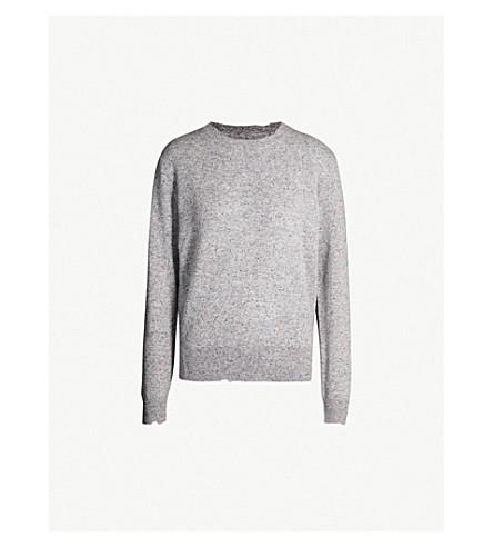 zadig & voltaire crewckel 羊绒套头衫 (gris + chine)