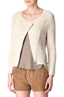 MAJE Aldente knitted cardigan