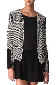 MAJE Allure knitted jacket