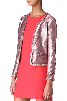 MAJE Apte sequinned jacket