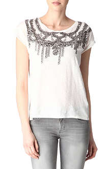 MAJE Collier printed t-shirt
