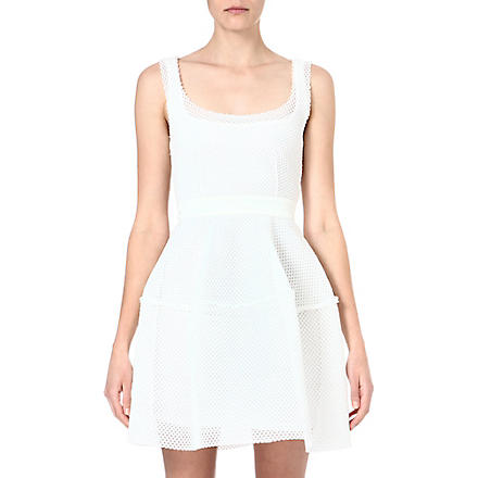 MAJE Edivas mesh dress (Blanc