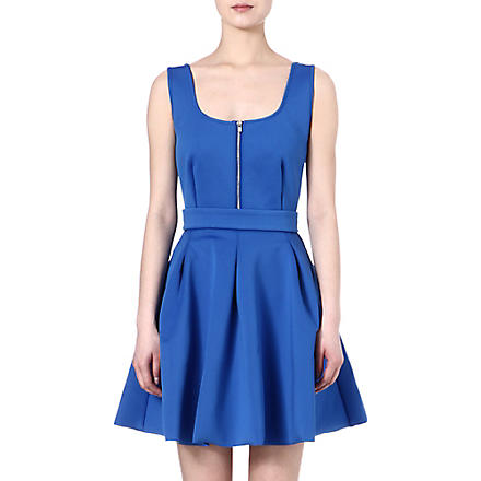 MAJE Edwige neoprene dress (Cobalt