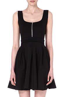 MAJE Edwige neoprene dress