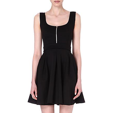 MAJE Edwige neoprene dress (Noir
