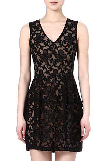 MAJE Elvira embroidered dress