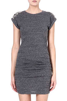 MAJE Fitted embellished dress