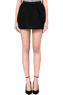 MAJE Mesh basketball skirt dress