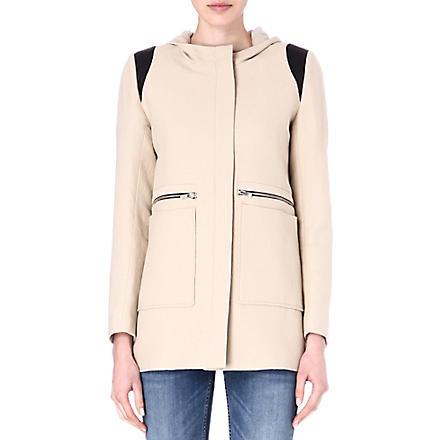 MAJE Etrange coat (Beige