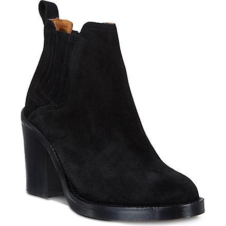 MAJE Eva ankle boots (Noir